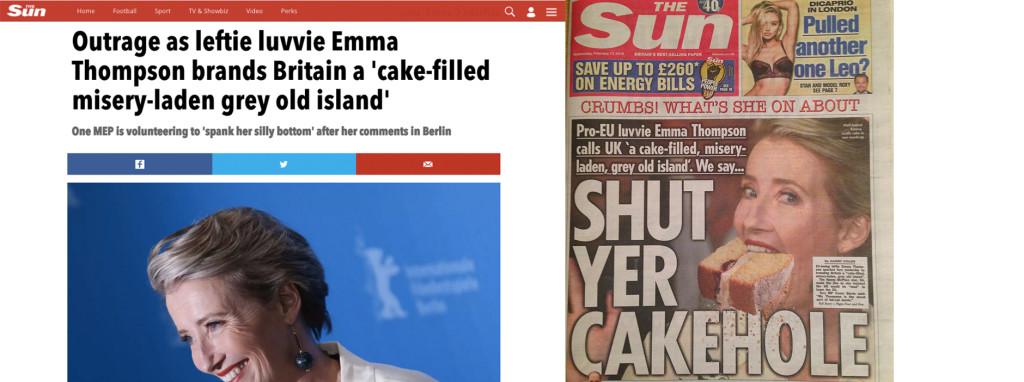 The Sun Headlines