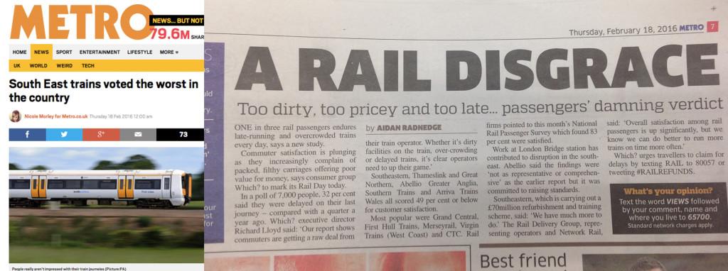 Metro headlines