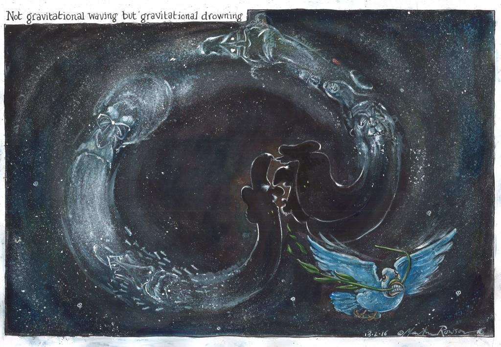 GraunNotGravitationalWaving
