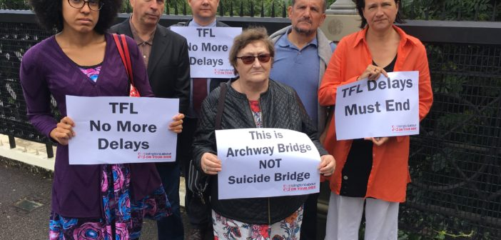 Mayor of Islington campaigns for anti-suicide measures in north London borough